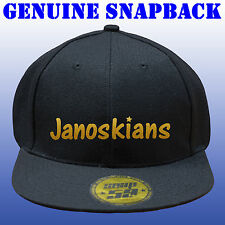 JANOSKIANS SNAPBACK CAP GENUINE SNAP 59 RED OR GOLD GLITTER