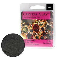 25g Crystal Clay, 2 Part self hardening epoxy clay, swarovski crystals, crafts