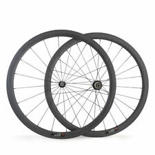 23mm Width Road Bike Carbon Wheels 700C 38mm Tubular Bicycle Racing Wheelset