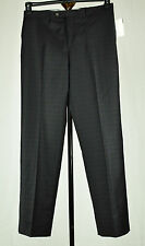 Lauren Ralph Lauren Mens Black Wine Plaid Slim Fit Dress Pants 32X30 34X32 34X34