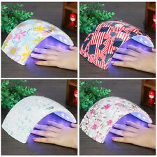 36W LED Light Lamp UV Nail Art Dryer Curing Gel Polish Auto Sensor Manicure GW