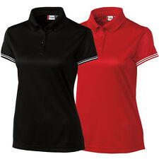 Clique by Cutter and Buck Womens C/S Infinity Lady Ice Pique Golf Polo