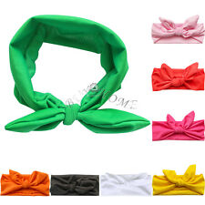 Cute Baby Girl Toddler Newborn Big Headband Headwear Hair Bow Accessories Rabbit