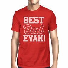 Best Dad Evah Men's Funny t Shirts For Dad Unique Fathers Day Gifts