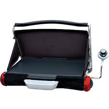 George Foreman Camp Tailgate Portable Propane Grill Black Red BBQ Outdoor Home