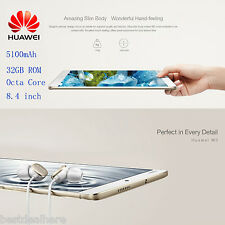"Huawei M3 8.4"" 2K IPS Screen Tablet PC Android 6.0 Octa Core 4GB 32GB Dual WiFi"