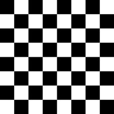 Checkers Black And White Quilting Fabric Printed By Spoonflower BTY