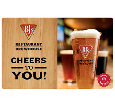 BJ's Restaurants Gift Card - $25 $50 or $100 - Fast Email delivery