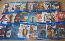 Assorted Blu-Ray Movies (Disc in MINT Condition)