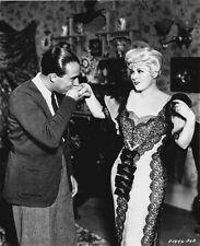 Mae West Kissed Her Hand by Man High Quality Photo