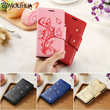 Luxury Pattern Flip Leather Wallet Card Stand Case Cover For Samsung S8 Plus S7