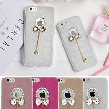 Bling Slim Soft Crystal Bow Shockproof Cover Case Skin For iPhone 6Plus/ 6S Plus