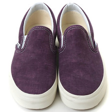 New VANS Womens Classic Slip On Plum Purple VN-0ZMRFR6 US W 5.5 - 7.0 TAKSE
