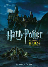Harry Potter ~ New & Sealed Complete 8-Film  Collection- 8-DISC DVD SET