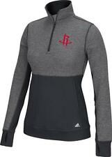 Houston Rockets adidas Women's Twist Half-Zip Climalite Pullover Jacket