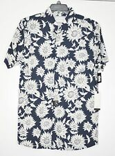Rip Curl Men's Button Down Shirt Sundaze Short Sleeve NWT