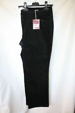 Joe Browns Sheego Ladies Velvet Bootcut Stretch Jeans black Size 50-56 + 58
