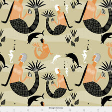 Art Deco Fabric Printed by Spoonflower BTY
