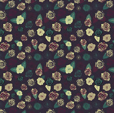 Moody Blossom Fabric Printed by Spoonflower BTY