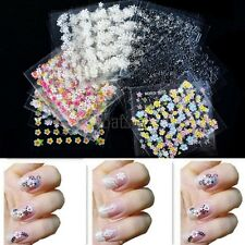 3D Design Decal Stickers 30 Sheets /50 Sheets Colorful Nail Art Manicure BTSY01