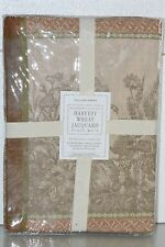NEW WILLIAMS SONOMA Harvest Wheat Jacquard Place Mats 4 Pc Set Brown Green Beige
