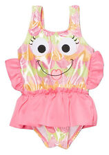 NWT Candlesticks Toddler Girls Pink Fish Skirted Tutu Swimsuit Size 18 24 M 2T
