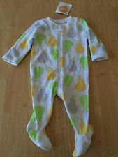 NWT Gymboree Baby Girls Boys Pears Sleeper 0-3 M