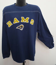 LOS ANGELES RAMS LONG SLEEVE SHIRT BY LOGO ATHLETIC VINTAGE RETRO NFL FOOTBALL