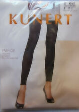Kunert Fashion Leggings opaque with Lycra various Colors Size II 40-42