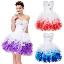 Formal Short Mini Homecoming Graduation Ball Gown Prom Bridesmaid Cocktail Dress