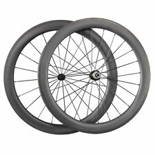 New 1550g 60mm Clincher Carbon Wheels Road Bike Bicycle Ultra Light Wheelset