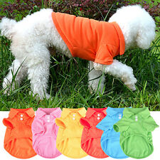Lovely Pet Puppy Polo Shirt Small Dog Cat Pet Clothes Costume Apparel T-Shirt