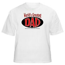 World's Greatest Dad - Doberman Pinscher T-Shirt - Sizes Small through 5XL