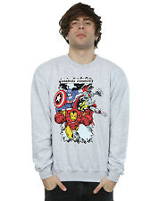 Marvel Men's Comic Characters Sweatshirt