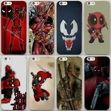 Comics Avengers Deadpool Style Hard Case Cover Coque For iPhone Samsung Sony