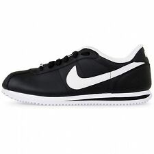 New Nike Original Cortez Leather 316418-012 Black / White  Shoes Men