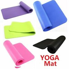 Non Slip Yoga Mat Exercise Fitness Workout Physio Pilates Camping Gym 183*61*1CM