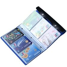 Credit Card Holder Bags Leather Business Cards Case Keeper Id Wallet Slim New