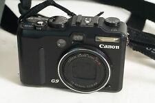 Canon PowerShot G9 12.1 MP Digital Camera + Case, Charger & batteries (019)