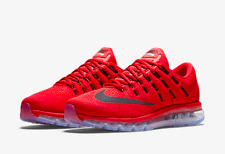 NIB MENS NIKE AIR MAX 2016 Running Shoe 806771 601 University Red/Black-Gym Red