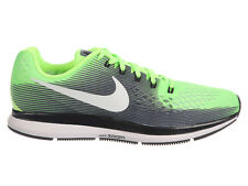 NEW MENS NIKE AIR ZOOM PEGASUS 34 RUNNING SHOES TRAINERS GHOST GREEN / WHITE