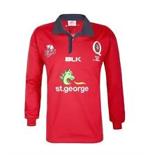 Queensland Reds 2017 Mens Traditional Supporter Jersey BNWT Rugby Union Clothing