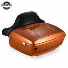 Amber Whiskey King Tour Pack For 2014-2017 Harley Street Electra Glide Touring