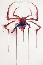 00300 SPIDERMAN 2 WATERCOLOUR IMAGE Poster Print