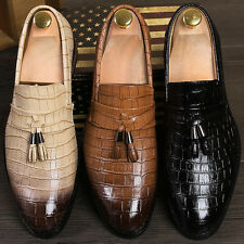 Mens Casual Smart tassel Formal Wedding office Dress Shoes Brogue Party Oxfords