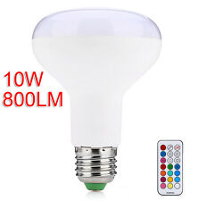 E27 RGB 10W LED Bulb Color Change Dimmable Light Lamp IR Remote Control Lantern