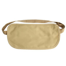Chic Travel Pouch Hidden Compact Security Money Passport ID Waist Belt Bag