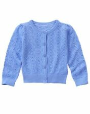 NWT Gymboree Tropical Breeze Blue Sweater Cardigan Girls Size 4