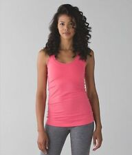 NWT LULULEMON Cool Racerback Tank Top in Size 10 in Pink Lemonade