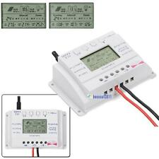 Solar Panel Regulator LCD 10A/20A 12V/24V MPPT Charge Controller Three Timer BA